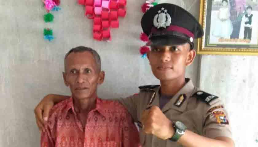 Kisah Simalango Anak Petani, Berkat Doa Orang Tua Lulus Anggota Polri