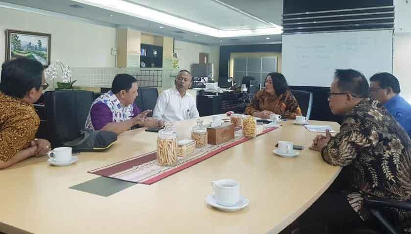 Pengurus PWI Pusat Temui Sekjen Kominfo Untuk Bahas HPN 2020