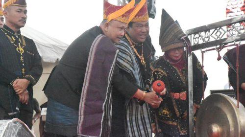 Pesta Budaya Njuah-Njuah Dairi 2019 Meriah