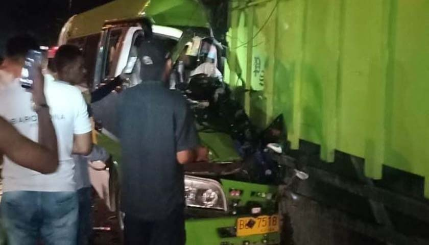 Tabrakan Tragis Rombongan Pengantar Pengantin di Lhoksumawe, 2 Tewas