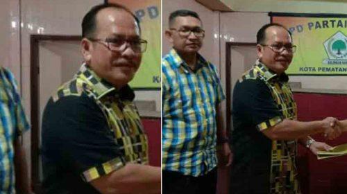Balon Walikota Siantar, Asner Silalahi Daftar ke Golkar