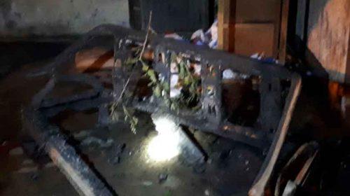 Diduga Dibakar OTK, Rumah Ginting Nyaris Ludes Terbakar