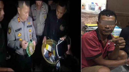 Gempur Basis Narkoba di Tembung, Polisi Dapat Sabu Paket Kecil