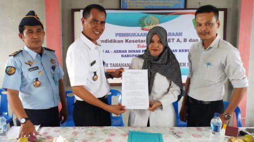 Warga Binaan Lapas Kelas IIB Aceh Singkil Mendapatkan Pendidikan Kesetaraan Paket