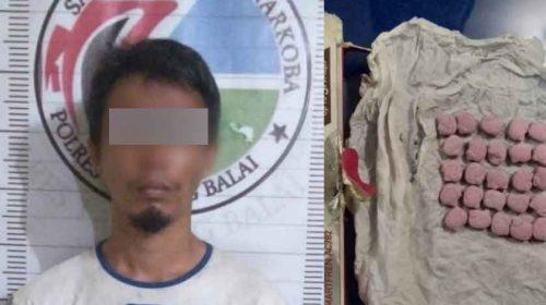 Pengedar Ekstasi Dibekuk Satres Narkoba Polres Tanjungbalai