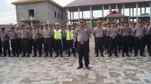 Polres Terjunkan 218 Polisi Amankan Pilkades Serentak di Batubara