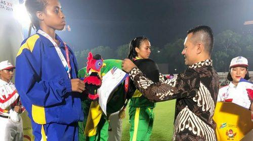 Raih Emas di POPNAS XV, Wagub Ucapkan Selamat kepada Nella dan Rezcan