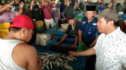 Phobia Virus Babi, Dirut PD Pasar dan MUI Medan Blusukan ke Pasar Ikan Pusat Pasar