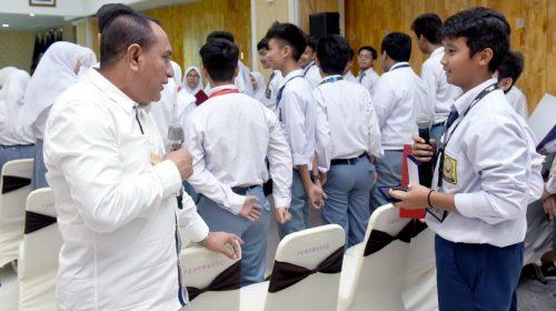 Apresiasi 86 Siswa Sumut Berprestasi, Gubernur Ingatkan Tetap Junjung Tinggi Nilai-nilai Agama