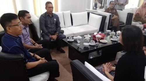 Pimpinan DPRD Medan Harapkan Pengusaha Tiongkok Atasi Banjir Rob Medan Utara