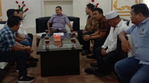 Wakil Ketua DPRD Medan Terima Kunker Komisi A DPRD Padang Lawas