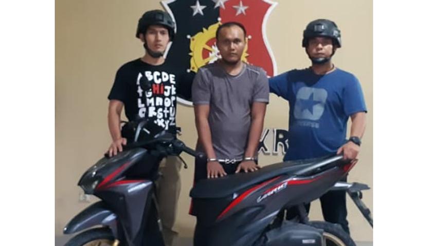 Mencuri Sepeda Motor, Jefri Chaniago Diringkus Polisi