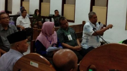 Mantan Dirut Sutedi Dihadirkan Dalam Sidang Korupsi Rp10,9 M di PDAM Tirtanadi Cabang Deliserdang