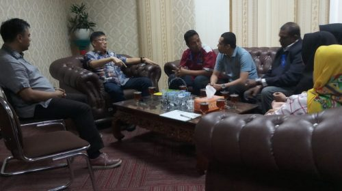 Akan Gelar Little Indian Festival, Pedagang Kuliner Pagaruyung Audiensi ke Ketua DPRD Medan