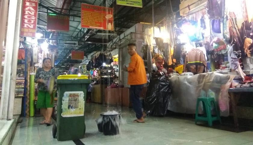 DPRD Medan Desak PD Pasar Perbaiki Talang Air Pasar Sei Sikambing