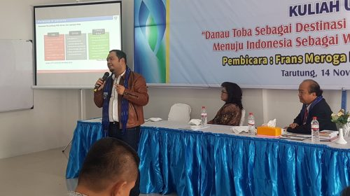 GO Indonesia Minta Tiga Kementerian Terbitkan SKB Rumuskan Konsep Wisata Premium Danau Toba