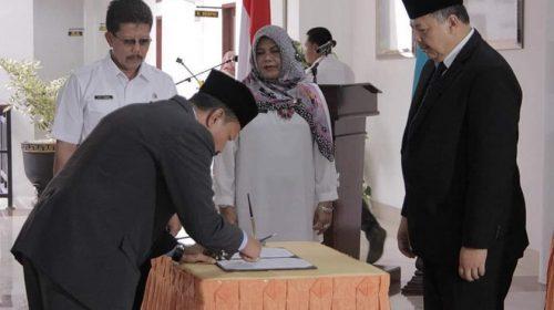 Dua Pejabat Eselon II Dilantik Wali Kota Solok