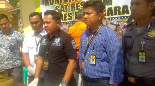 Ucok Si Pengoplos Elpiji Subsidi Asal Batubara Diringkus di Medan