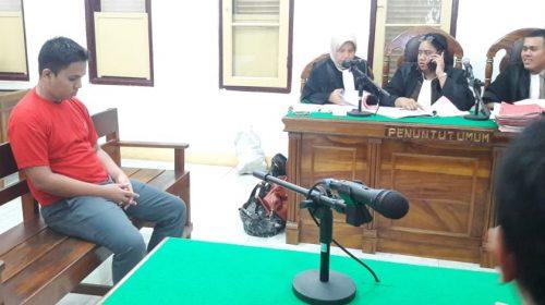Walau Cuma Terlibat Pengiriman Sabu Pertama dari Malaysia, Safrizal Dituntut Pidana Mati