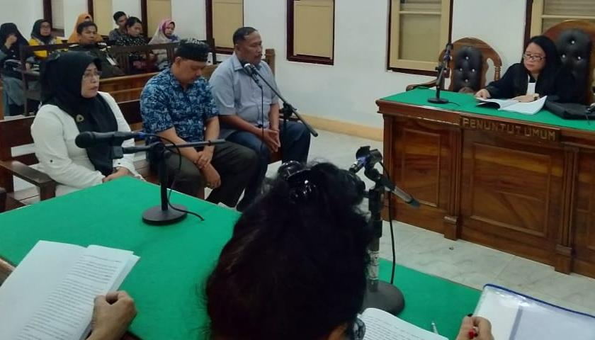 Pungli Dana BOS Rp70 Juta, 3 Terdakwa Pengurus K3S Gebang Dituntut 1 Tahun dan 2 Bulan