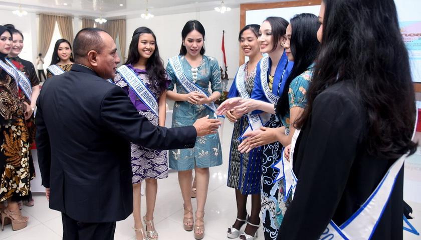 Finalis Puteri Indonesia Sumut 2020 Diharapkan Harumkan Nama Daerah