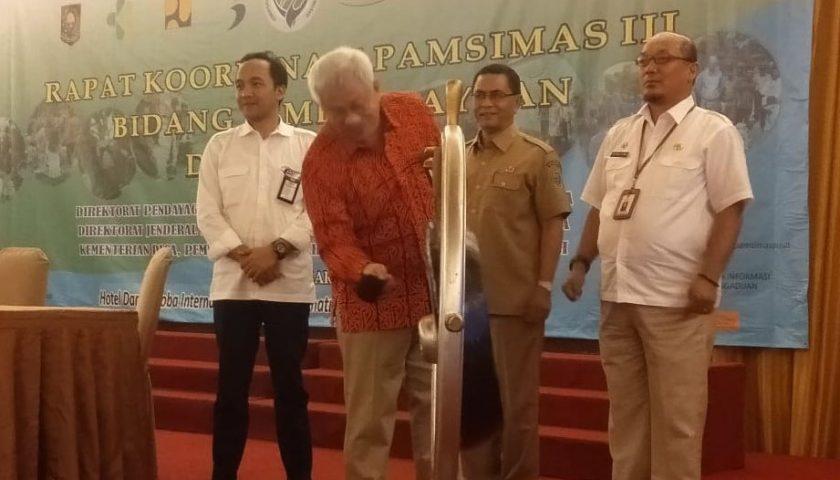 Kolaborasi Eksekutif dan Legislatif Daerah Diperlukan Dukung Pengganggaran Pamsimas
