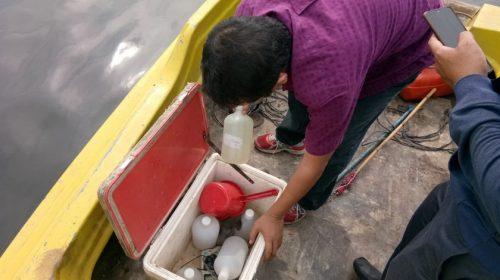 Pasca-Pembuangan Bangkai Babi, Sampel Air Sungai Baderah Diuji