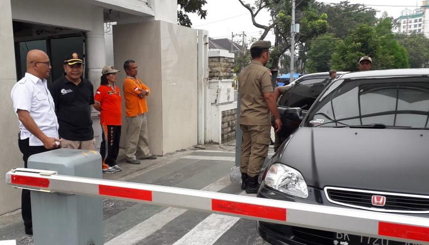 Kasatpol PP Sumut Mohon Pengertian Masyarakat Soal Pengamanan Kantor Gubsu
