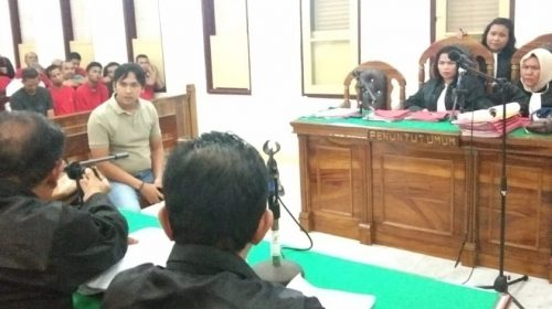 Sidang 2 Terdakwa Kurir 10 Kg Kembali Memanas, Hakim PN Medan Skors Sidang