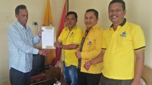 Mangihut Sinaga Ambil Formulir Pendaftaran Partai Golkar