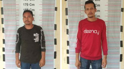 Asik Pesta Sabu, Dua Pemuda Dicokok Dari Dalam Kamar