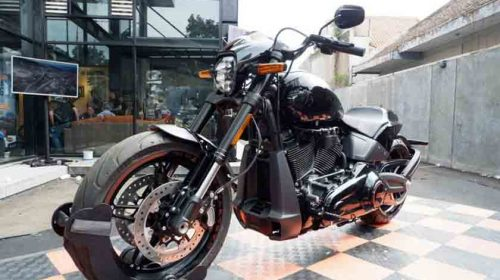 Harley Davidson Tiongkok Pakai Mesin 338 Cc