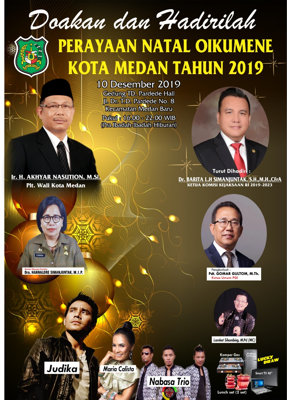 Natal Oikumene Kota Medan