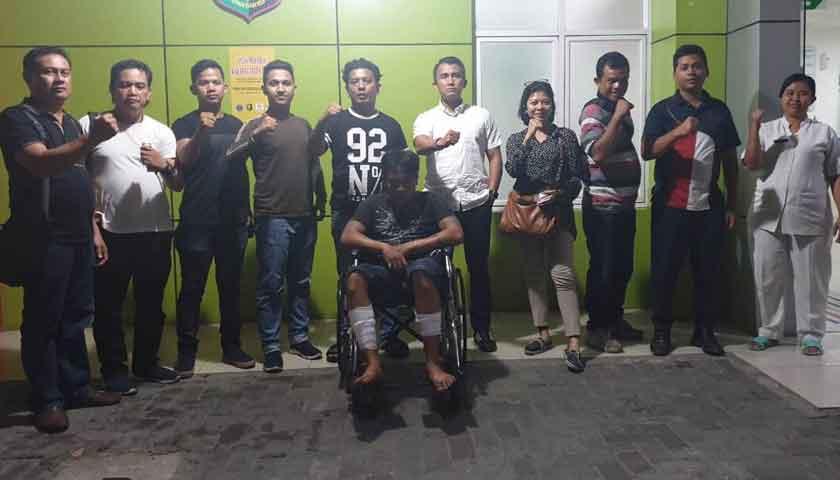 Nekat Serang Polisi Pakai Belati, Kaki Pelaku Curanmor Ditembak