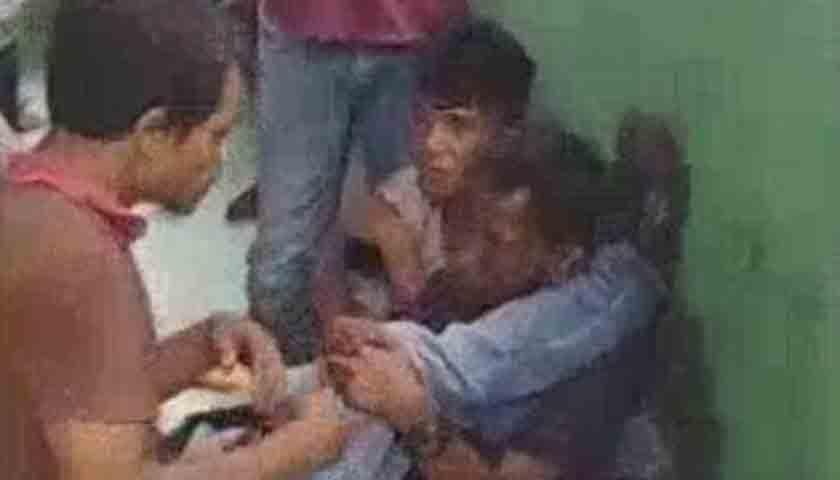 Wilkum Polsek Medan Timur Kian Rawan, Sepedamotor Jambret Mogok, 2 Pelaku Digebuki Massa