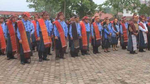 Ulos Jadi Warisan Budaya Nasional, Samosir Asal Muasal Suku Batak
