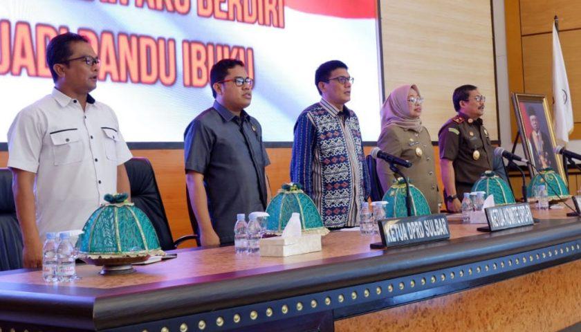 Persiapan Pilkada Serentak 2020 dan Penataan Daerah, Tema Utama Kunker Komite I DPD RI di Sulbar
