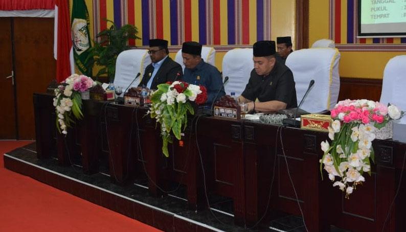 Dewan Aceh Utara Sahkan Rancangan APBK 2020 Senilai Rp2.794 Triliun