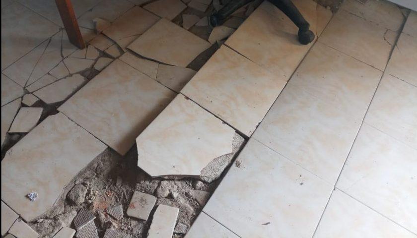 Ruangan Bina Marga Dinas PUPR Aceh Singkil Memprihatinkan