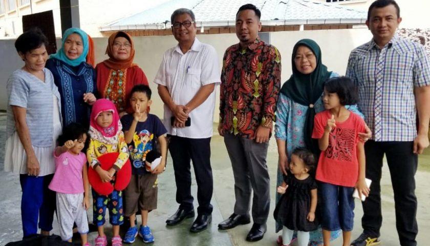 Derita Hidup Terlantar di Negeri Orang Berakhir, Hari ini Mildah dan 5 Anaknya Pulang ke Sumut