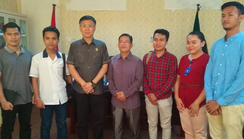 Hasyim Apreasiasi Perayaan Natal Komisi Pemuda BNKP Resort 42