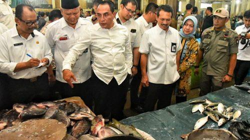 Dirjen Perlindungan Konsumen dan Tata Niaga Kementrian Perdagangan Sidak Pasar di Medan