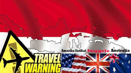 Aduh Gawat! Amerika Serikat, Inggris dan Australia Keluarkan Travel Warning ke Indonesia