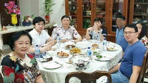 Ahok Rayakan Imlek, Doakan Indonesia Kian Baik