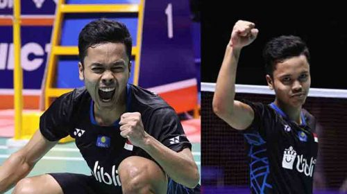 TERHARU..!! Anthony Sinisuka Ginting Raih Gelar Tunggal putra Indonesia Masters