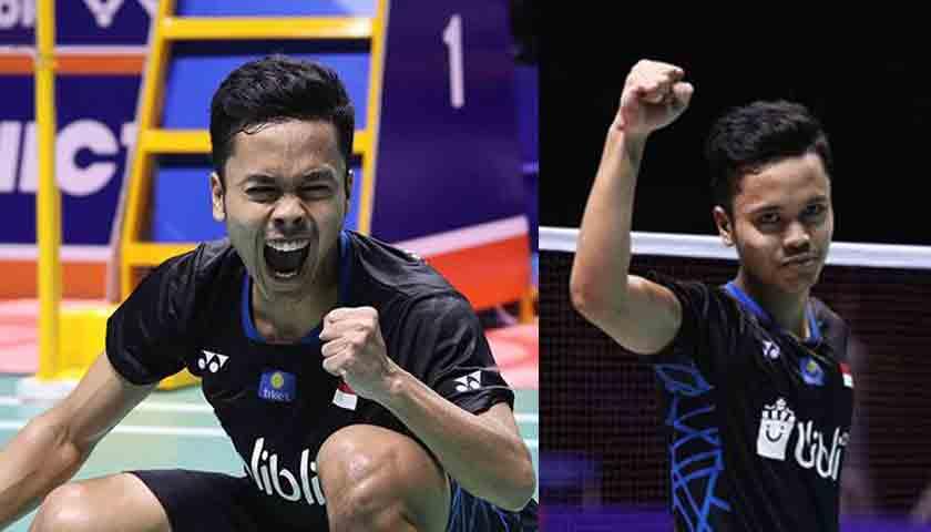 TERHARU..!! Anthony Sinisuka Ginting Raih Gelar Tunggal putra Indonesia Masters