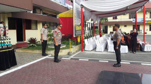 Kapoldasu Irup Hut Satpam Ke-39 di Mapolrestabes Medan