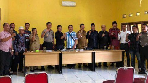 Kapolsek Medan Area Prakarsai Perdamaian Pemilik Pekong dengan BKM Jamik dan Taqwa