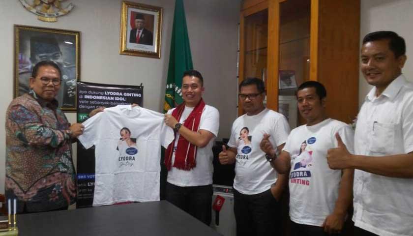 Ketua DPRD Sumut Ajak Warga Dukung Lyodra Ginting di Indonesian Idol