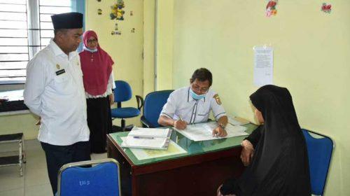 Wabup Sergai Sidak Puskesmas Desa Pon